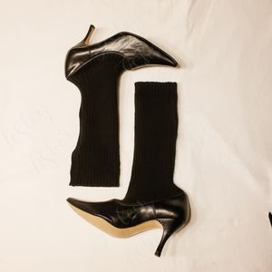 Jeffrey Campbell Heeled Sock Boots